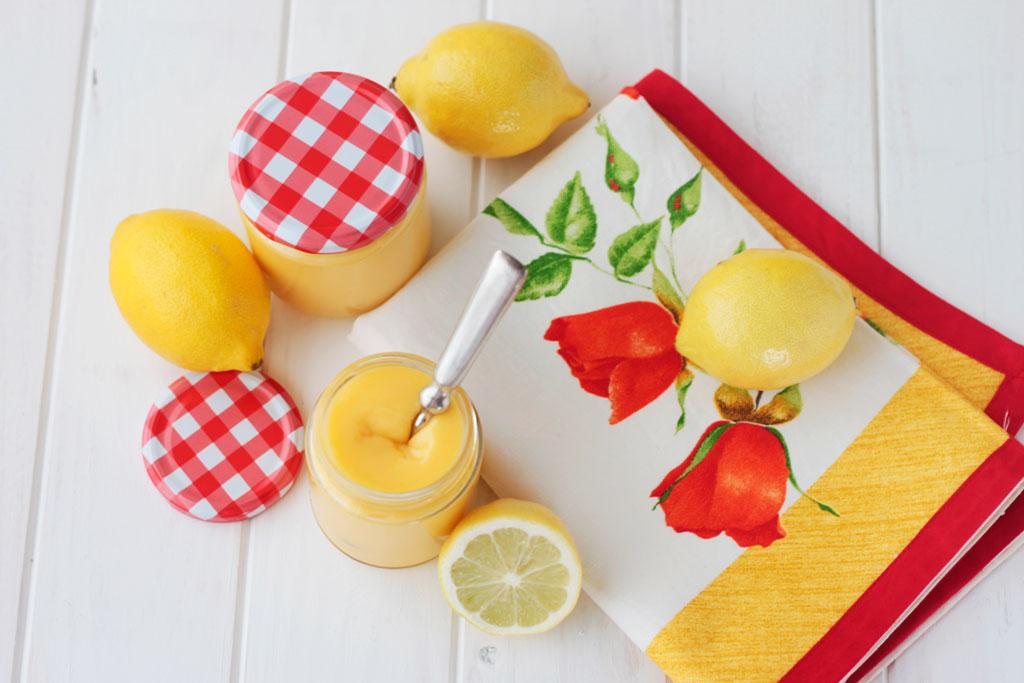 lemon curd casero