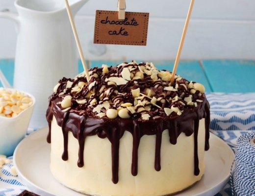 Tarta-de-dos-chocolates-y-crema-de-pistacho