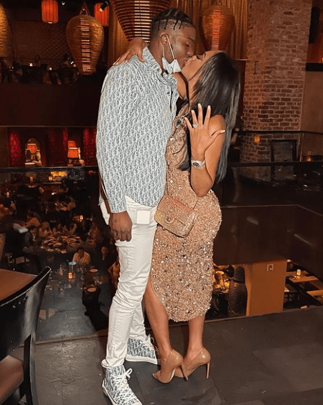 Dwayne Haskins' Wife Arrested, Renewing Wedding Vows