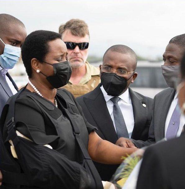 Haitian First Lady Martine Moise Returns Home To Bury Husband