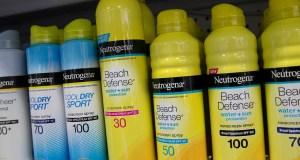 Johnson & Johnson, Recalls Aveeno, Neutrogena Sunscreens, Cancer