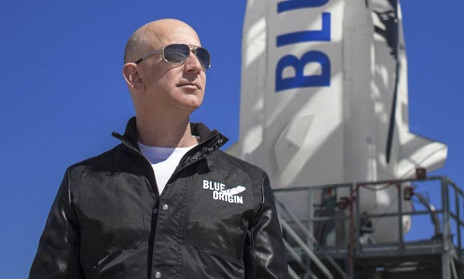 Just Like Richard Branson, Jeff Bezos Is Set To Fly Into Space
