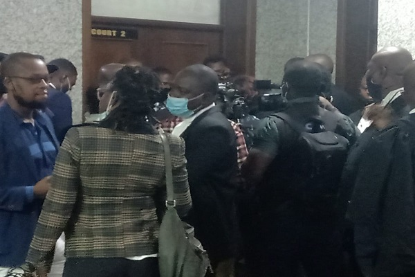 Nnamdi Kanu's Trial Begins, Lawyers Accuse DSS Of Denying Them Access To Court Room