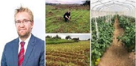 Nederlander Celebrates Becoming A Farmer In Nigeria