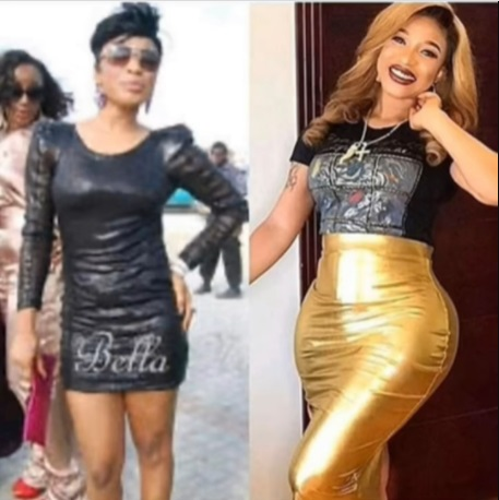 Tonto Dikeh Explains Why She Went Under The Knife Using Just Photos