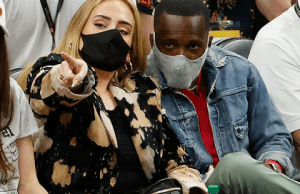 Adele romanitcally linked with LeBron James' agent Rich Paul after both attend NBA finals