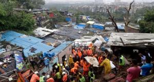 31 People Killed After Torrential Rain Hits Mumbai