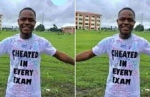 Another Student Boldly Says He Cheated In His Exams As He Passes Out