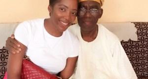 Tiwa Savage Loses Dad