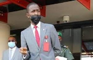 EFCC Chairman, Bawa slumps as he gives speech in Abuja