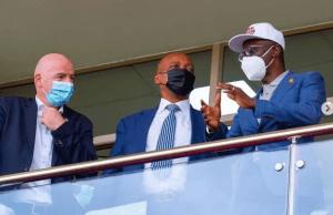 FIFA President, Infantino storm Nigeria for Aisha Buhari's Tournament