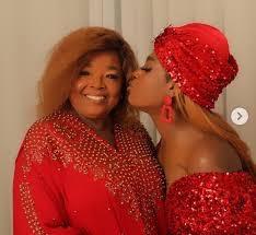 For every dirty throw at you, you wil get a million blessings, Annie Idibia consoles mom