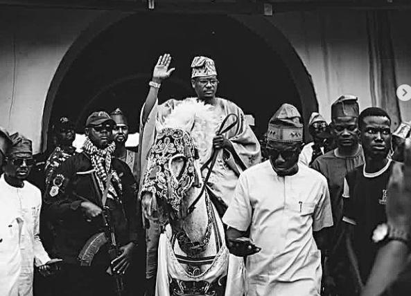 Shina Peller shares more photos from his coronation as The Ayedero of Yorubaland