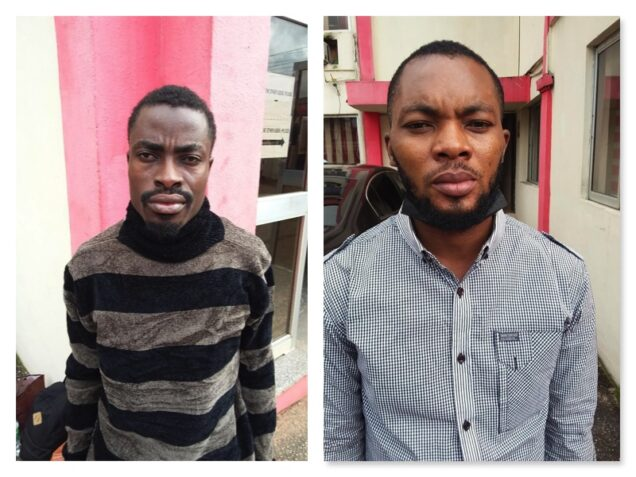 EFCC nails two Nigerians for impersonating Anthony Joshua and defrauding two ladies