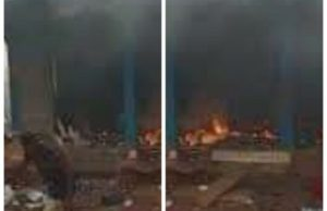 Terrorists use petrol bombs to raise down Imo police station