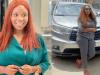 Hardwordk & Grace! Wumi Toriola shows fans her new car