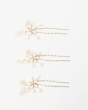 épingle cheveux mariage fleur à strass