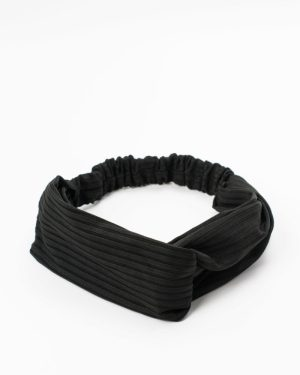 bandeau femme noir