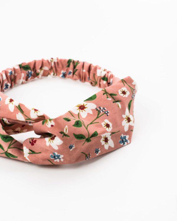 headband femme rose