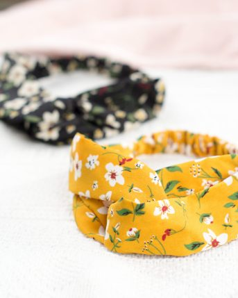 bandeaux cheveux femme à fleurs