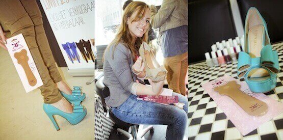 Lady's Secret inlegzolen fashionchick pump launch