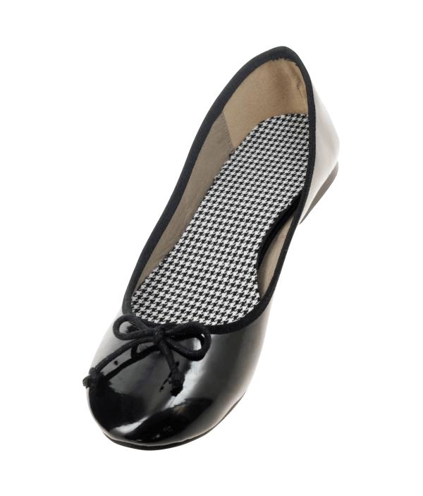 ballerina schoenen inlegzolen pied de poule Lady's Secret