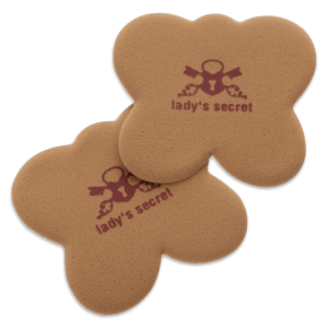 Onzichtbare kussentjes Lady's Secret caramel beter dan gel move your party feet antislip