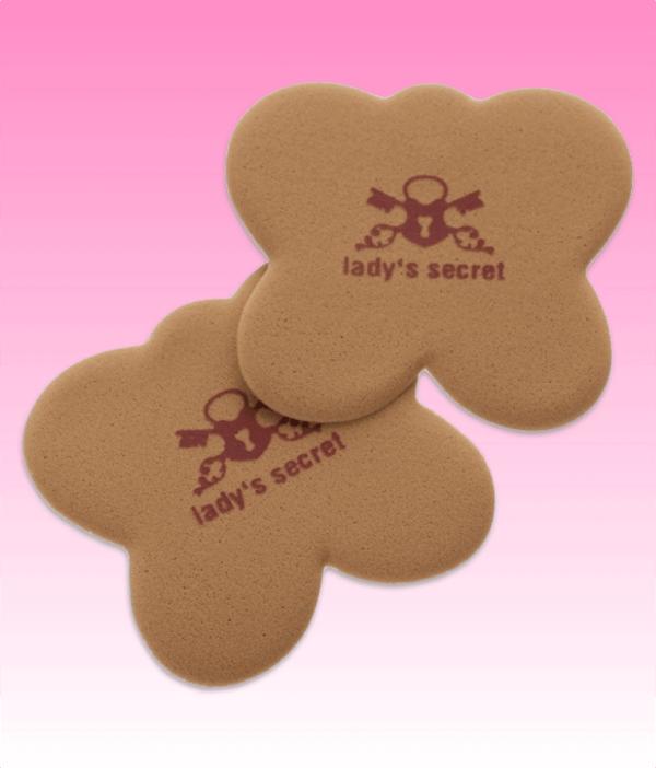 Onzichtbare kussentjes Lady's Secret caramel beter dan gel move your party feet antislip