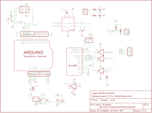 small resolution of data logger shield for arduino rh ladyada net arduino uno shield schematic eagle arduino uno cnc shield schematic