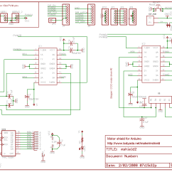 L298 H Bridge Circuit Diagram Origami Lily Controlling Your Trains With An Arduino « Modelrail.otenko