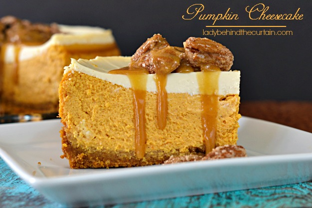 National Pumpkin Cheesecake Day, Food Porn Friday, Cheesecake, Pumpkin