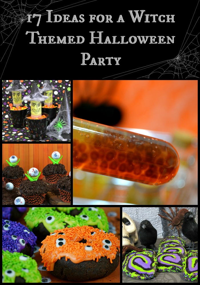 17 Ideas for a WitchThemed Halloween Party