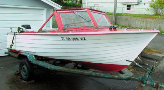 Grady White Ladyben Classic Wooden Boats For Sale
