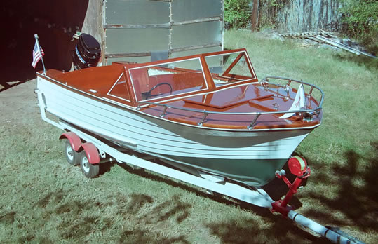 Dunphy  LadyBen Classic Wooden Boats for Sale