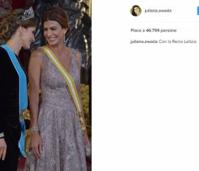 Letizia Ortiz e Juliana Awada: look impeccabili FOTO