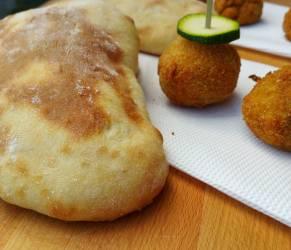 Pane Arabo o Pitta con o senza Bimby