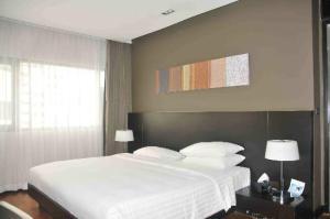 Fraser Suites Sukhumvit Serviced Apartment bedroom