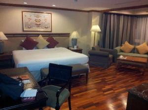 President Solitaire Hotel & Spa room view
