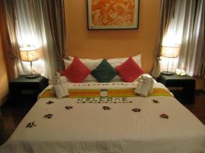 Rummana Boutique Resort bed