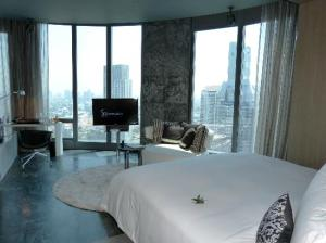Sofitel So Bangkok room view a view GREAT!