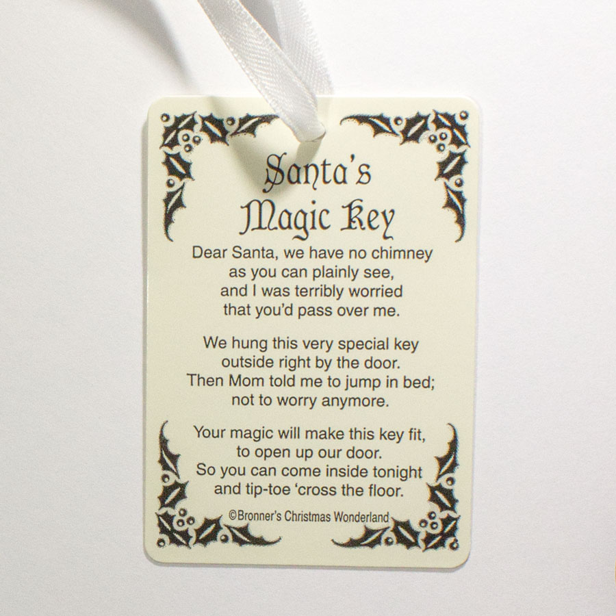 Poem For Santas Magic Key Does Not Include Key