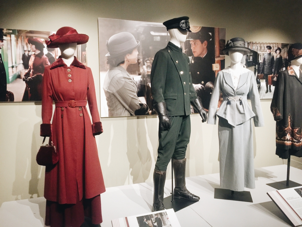 Day wear from Dressing Downton exhibit at Lady by Choice blog