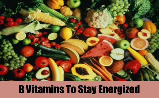 B Vitamins To Stay Energized