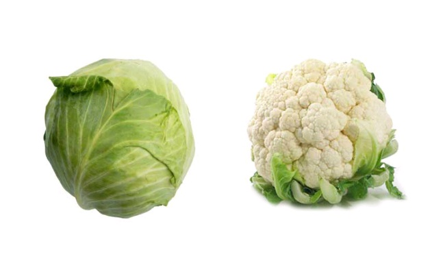 Cabbage And Cauliflower