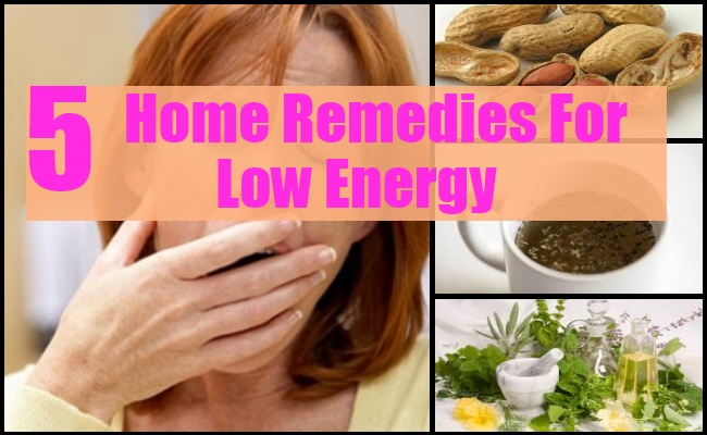 Home Remedy For Low Energy