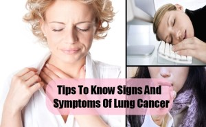 How To Know Signs And Symptoms Of Lung Cancer