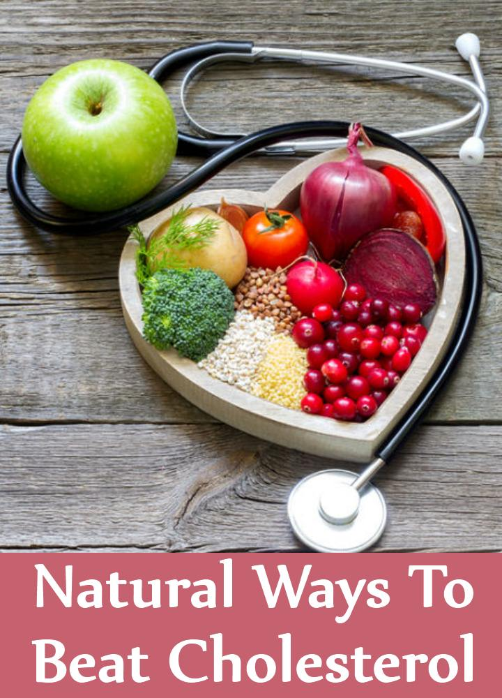Natural Ways To Beat Cholesterol