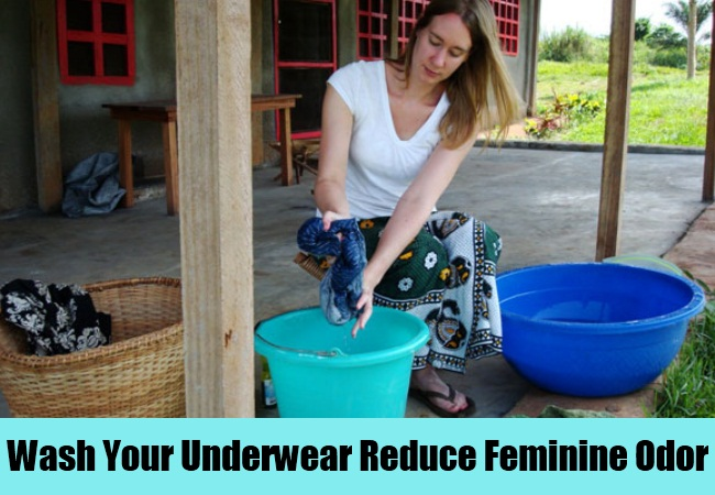 Wash Your Underwear Reduce Feminine Odor