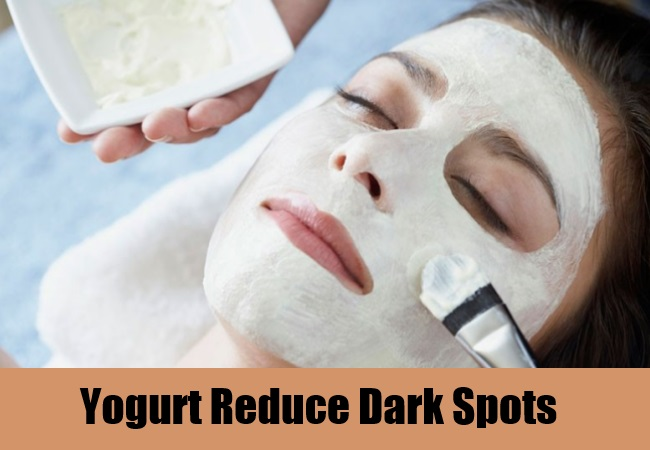 Yogurt Reduce Dark Spots