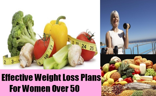 Effective Weight Loss Plans For Women Over 50